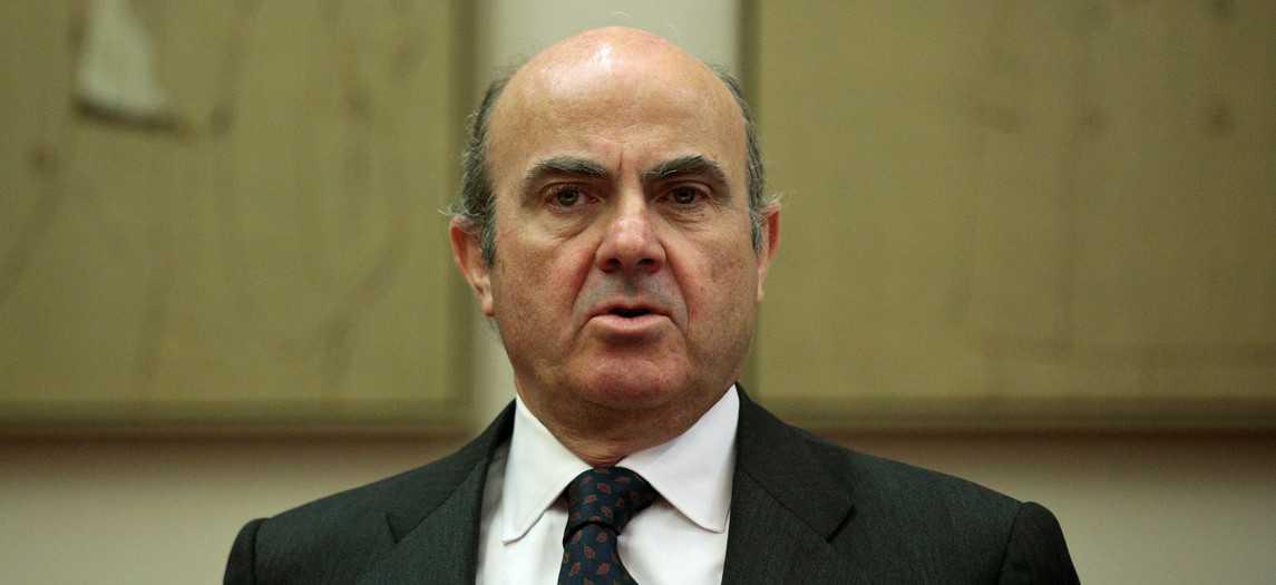 El ministro de Economía Luis de Guindos. FOTO: Reuters