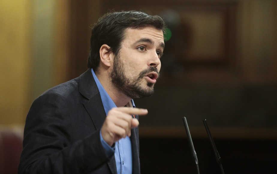 Alberto Garzón, nuevo coordinador federal de Izquierda Unida. Reuters