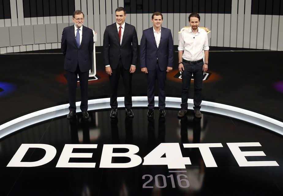 Debate a cuatro campaña 26J Foto: Reuters