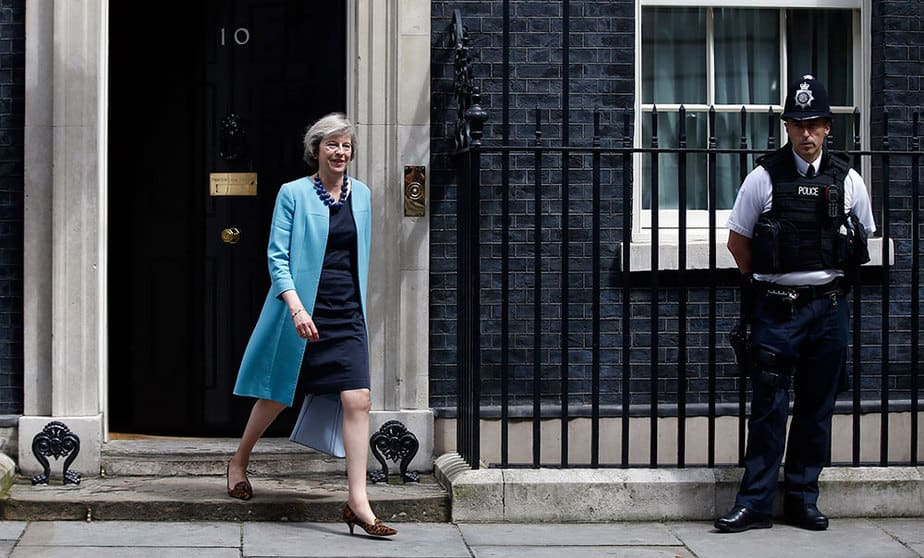 Theresa May. Foto: Reuters