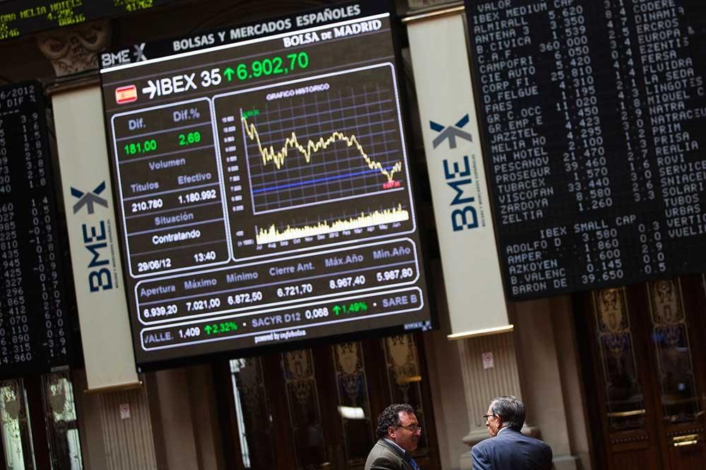 El desplome de Wall Street contagia a la Bolsa de Madrid