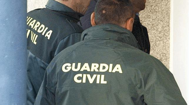 Detención de yihadistas por la Guardia Civil.
