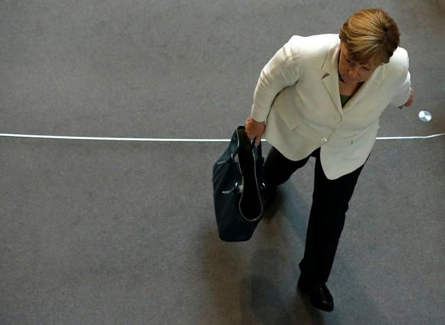 La canciller de Alemania, Ángela Merkel