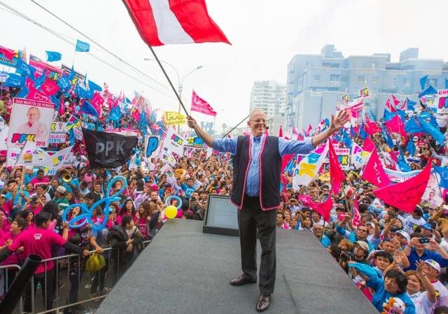 El presidente de Perú, Pedro Pablo Kuczynski.