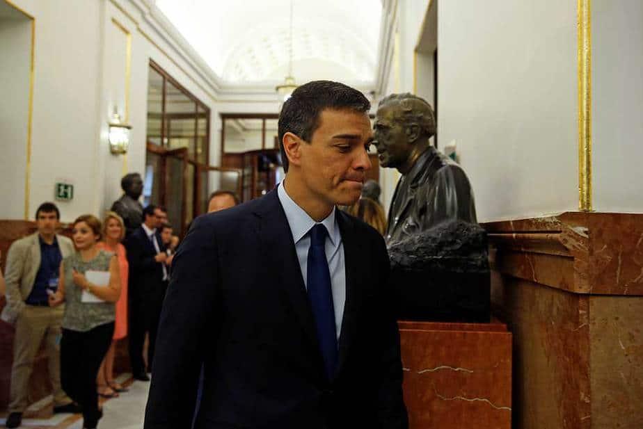 Pedro Sánchez, líder del PSOE. Foto: Reuters