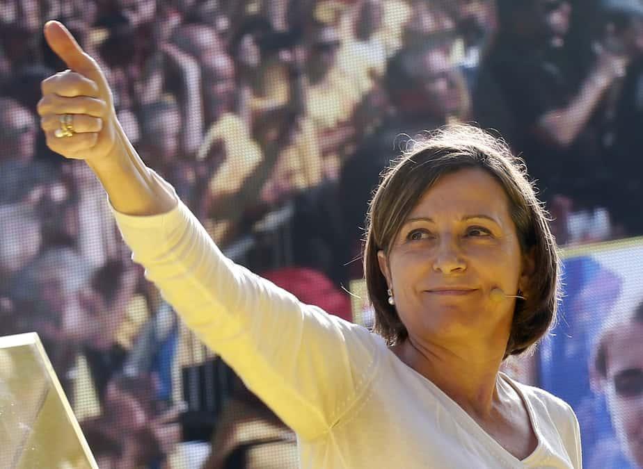 La presidenta del Parlament catalán, Carme Forcadell. FOTO: Reuters