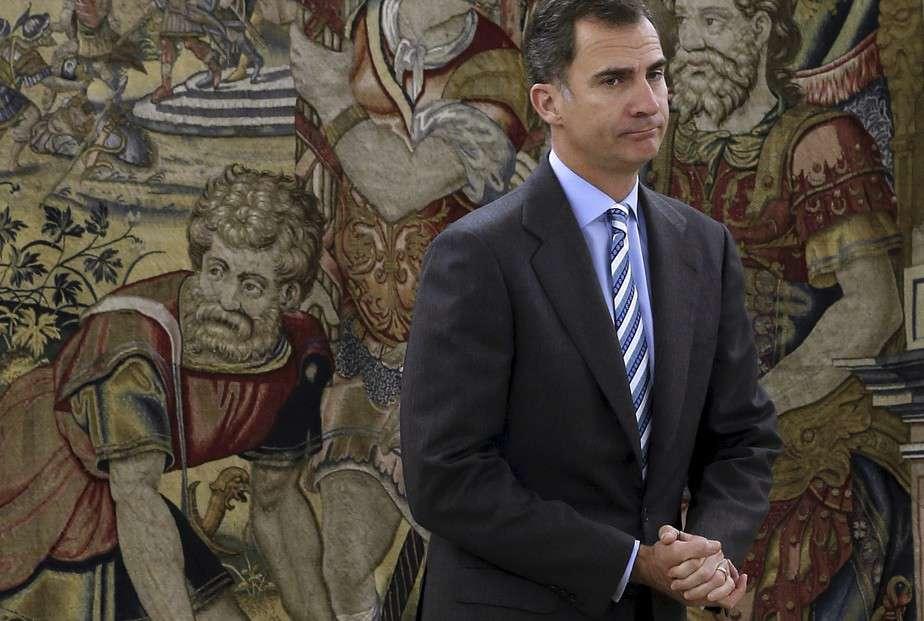 El Rey Felipe VI. FOTO: Reuters