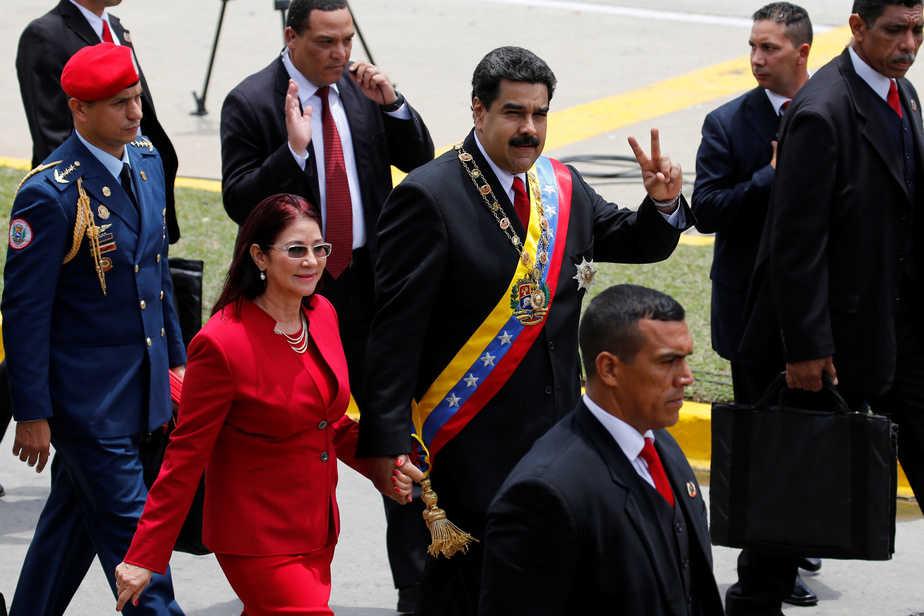 El presidente de Venezuela Nicolás Maduro. FOTO: Reuters