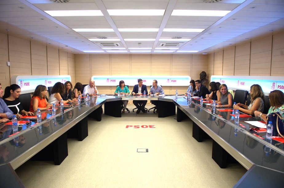 Reunión de la Ejecutiva del PSOE. FOTO: Reuters