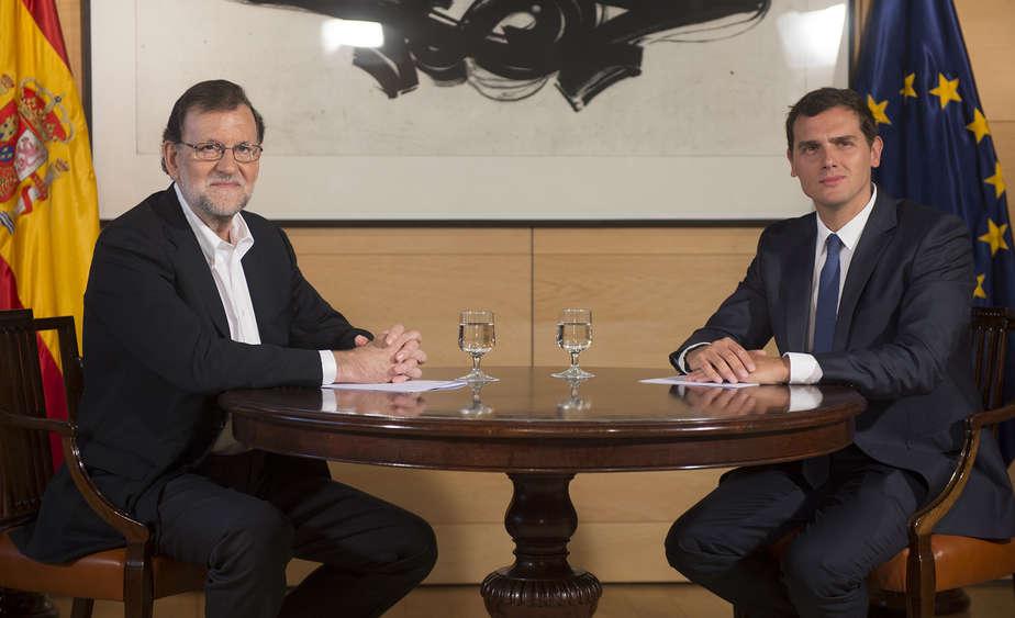 Mariano Rajoy y Albert Rivera. FOTO: Flickr PP