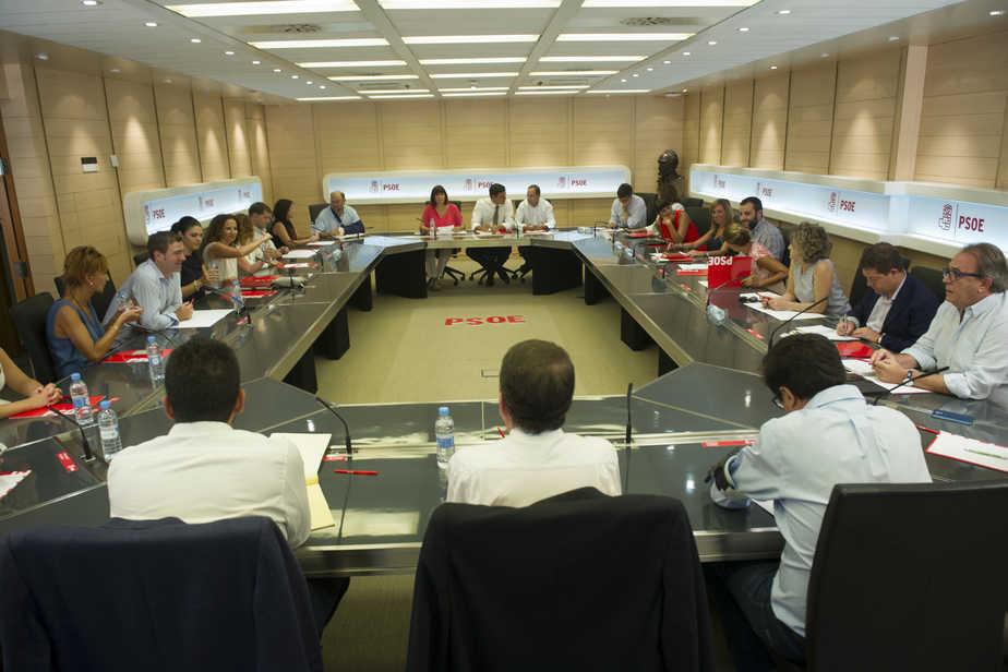 Reunión de la Ejecutiva del PSOE. FOTO: Flickr PSOE