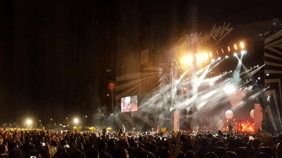 Concierto de Fangoria en el Arenal Sound 2016. FOTO: @RockTotalWeb