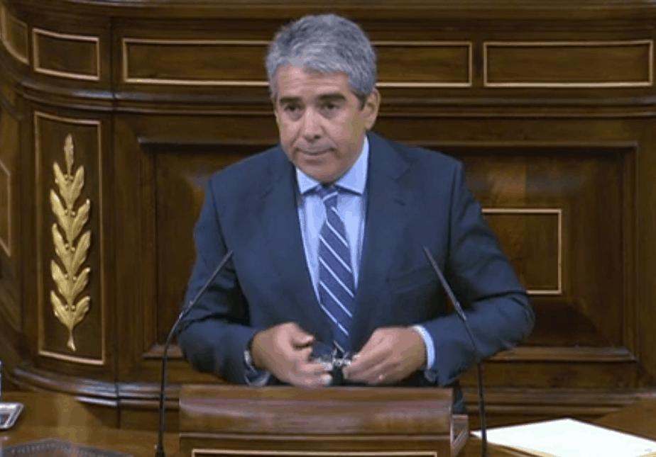 El portavoz del Partit Demócrata Catalán. Francesc Homs.