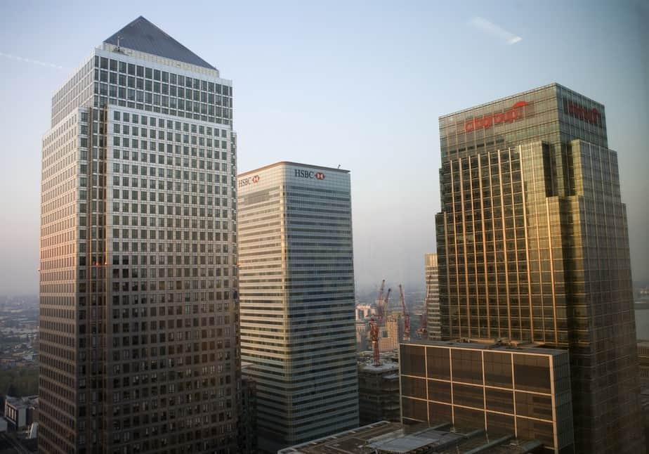 Centro financiero de Londres. Foto: Reuters