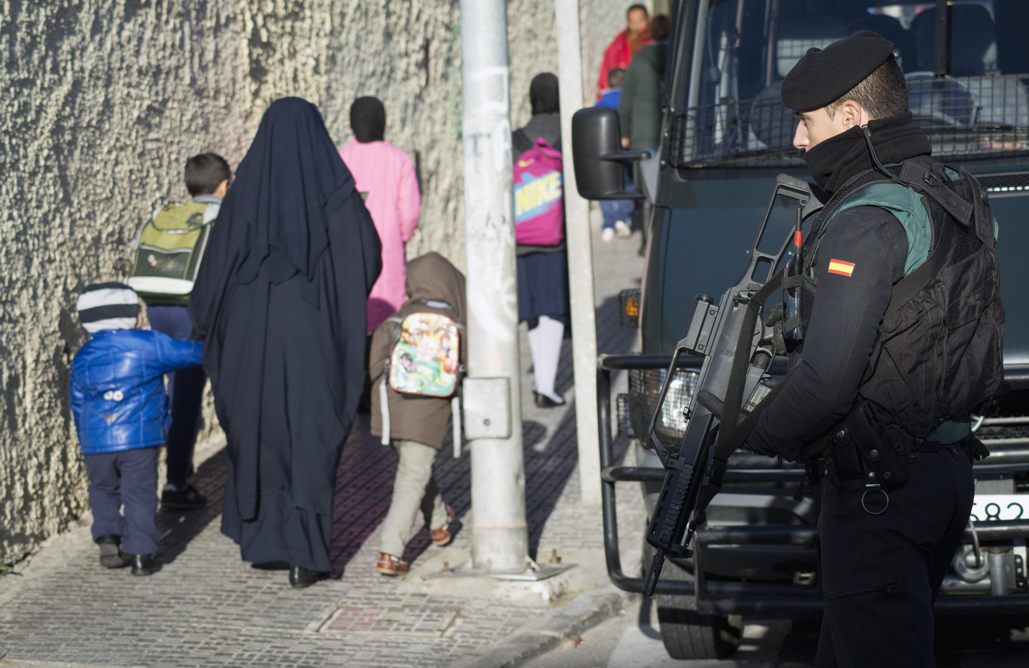 La yihad en familia. Foto: Reuters