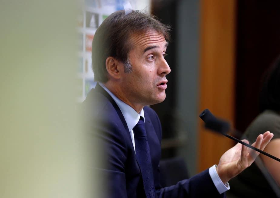 El seleccionador español Julen Lopetegui. FOTO: Reuters