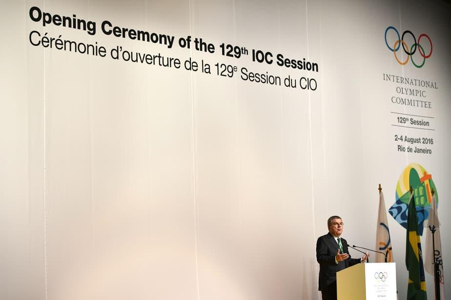 Thomas Bach, presidente del Comité Olímpico Internacional en Río 2016. FOTO: Reuters