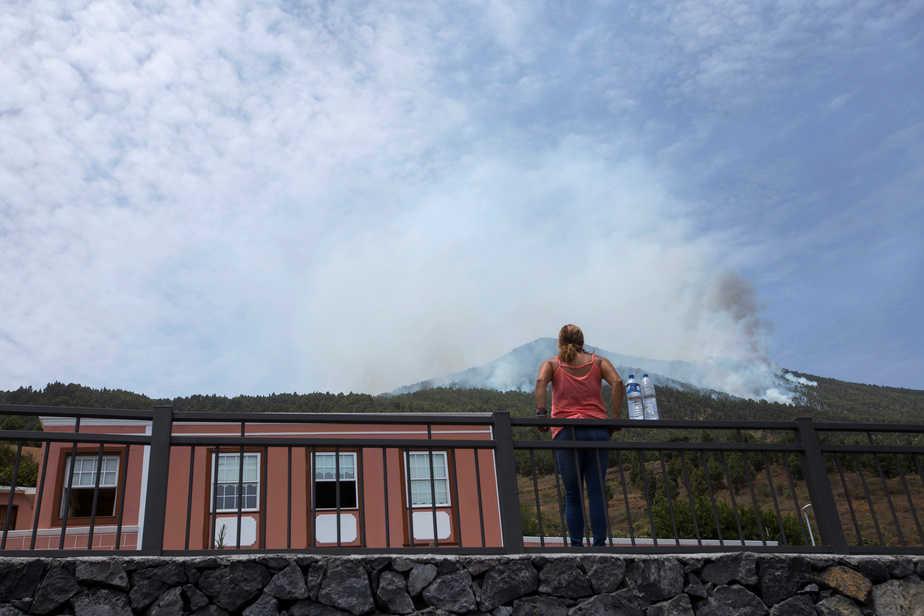 Imagen del incendio que ha asolado la isla de La Palma. FOTO: Reuters