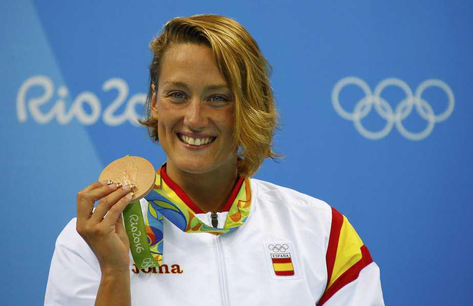 La nadadora Mireia Belmonte en los Juegos de Río 2016. FOTO: Reuters
