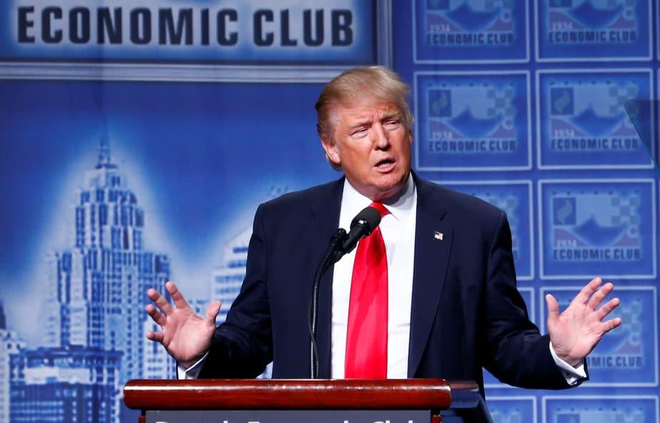 El candidato republicano Donald Trump. Foto: Reuters