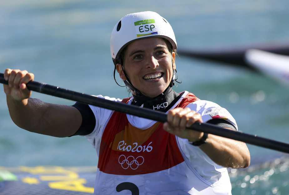 Maialen Chourraut. FOTO: Reuters