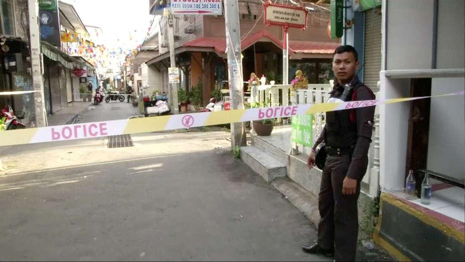 Cadena de atentados en Tailandia. FOTO: Reuters