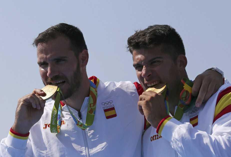 Saul Craviotto y Cristian Toro. Foto: Reuters