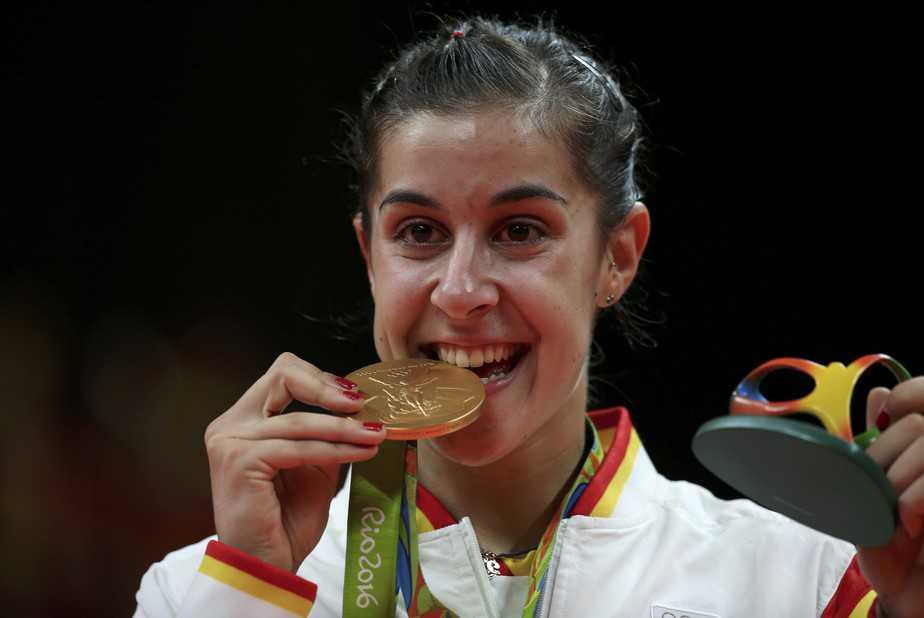 Carolina Marin gana el oro en Río 2016. Foto: Reuters