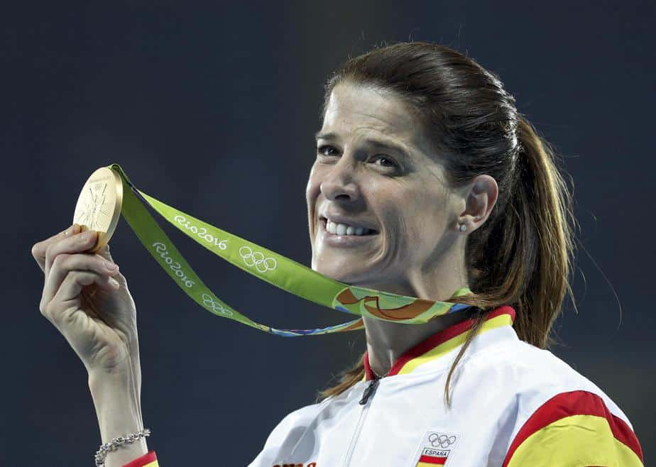 Ruth Beitia, medalla de oro. Foto: Reuters