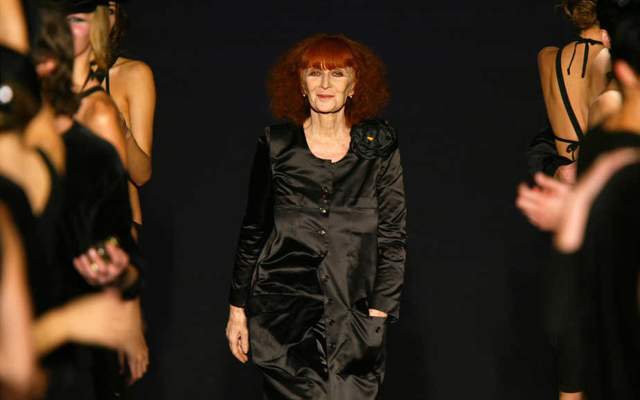 La diseñadora Sonia Rykiel.