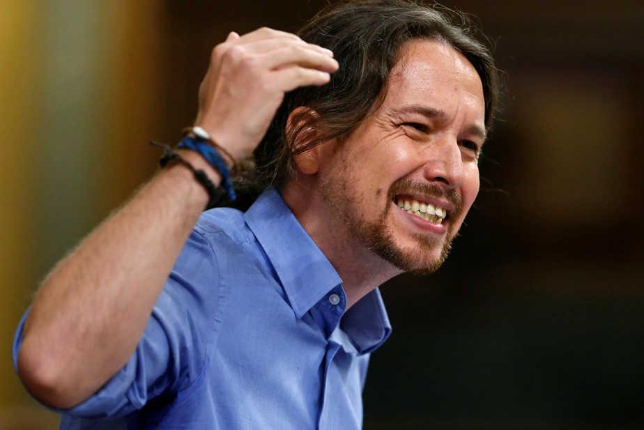 El líder de Podemos, Pablo Iglesias. FOTO: Reuters