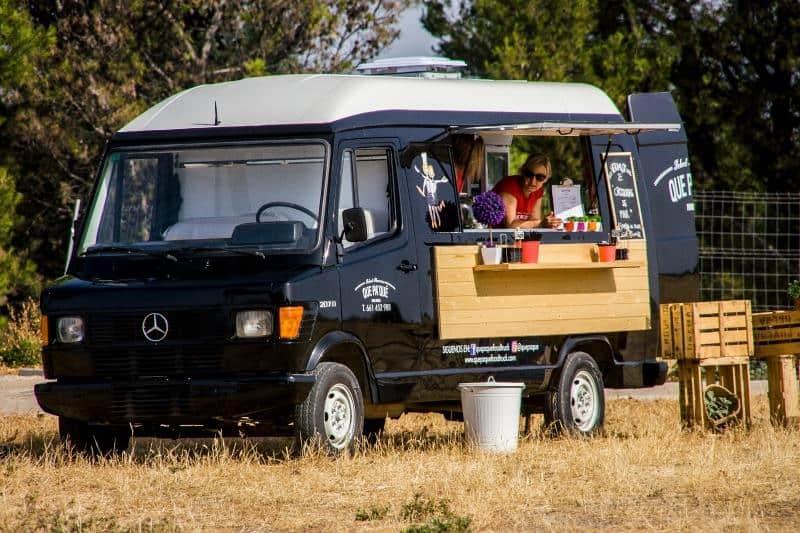 María y Manuela, cocineras y apasionadas por las posibilidades de los 'Food truck'.