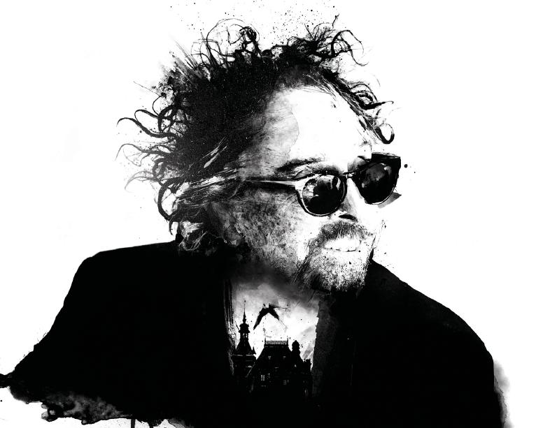 Tim Burton. Ilustración de Luis Moreno.