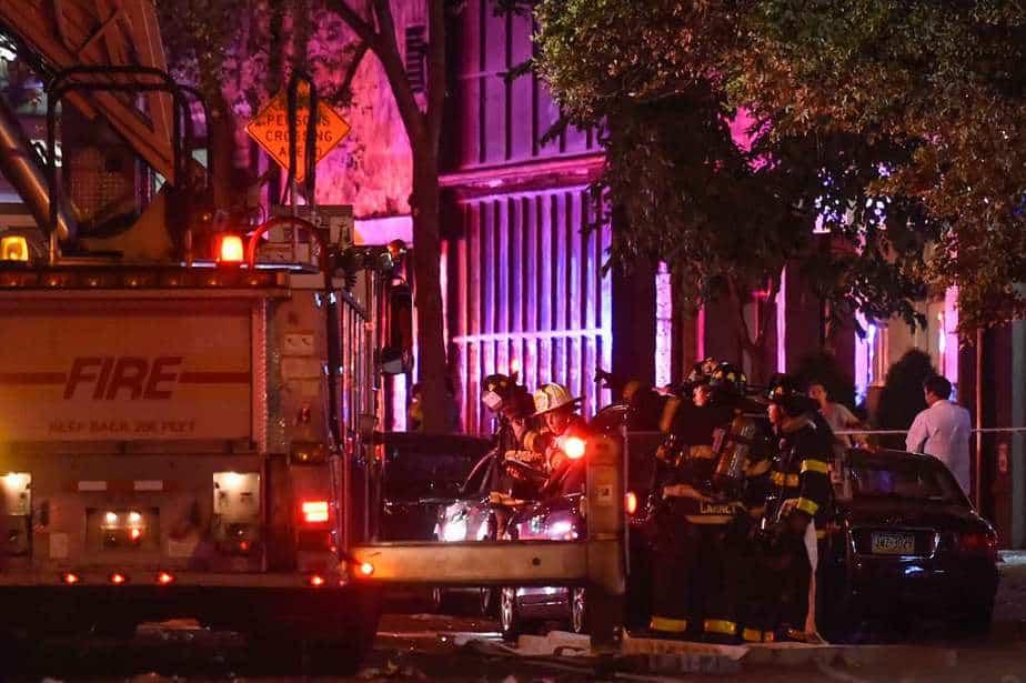 Explosión en el barrio de Chelsea, Nueva York. Foto: Reuters