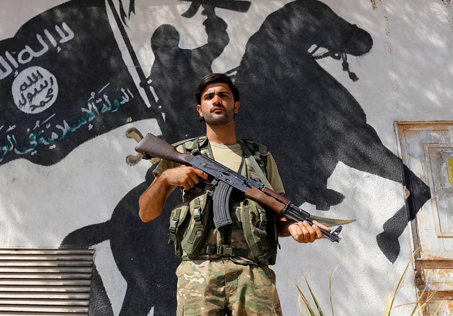 Golpe a la moral y estructura del Estado Islámico