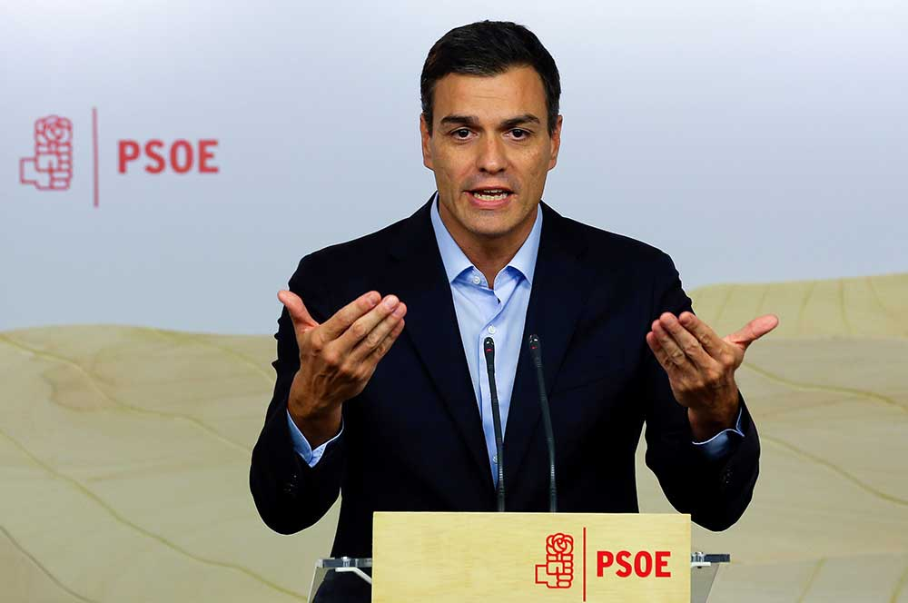 Sánchez se inclina por buscar un acuerdo para Cataluña.