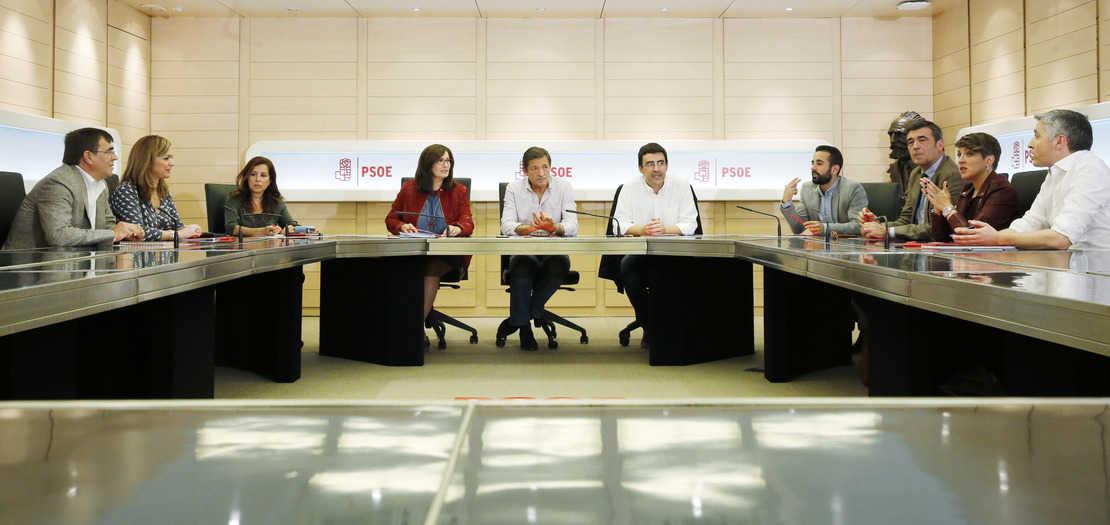 Comisión Gestora del PSOE. FOTO: Flickr PSOE