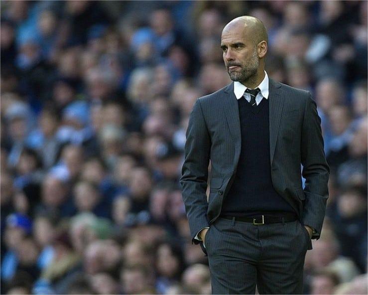 Josep Guardiola Manchester City