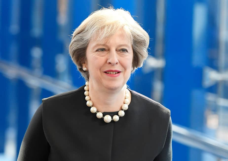 La primera ministra británica, Theresa May.  FOTO: Reuters