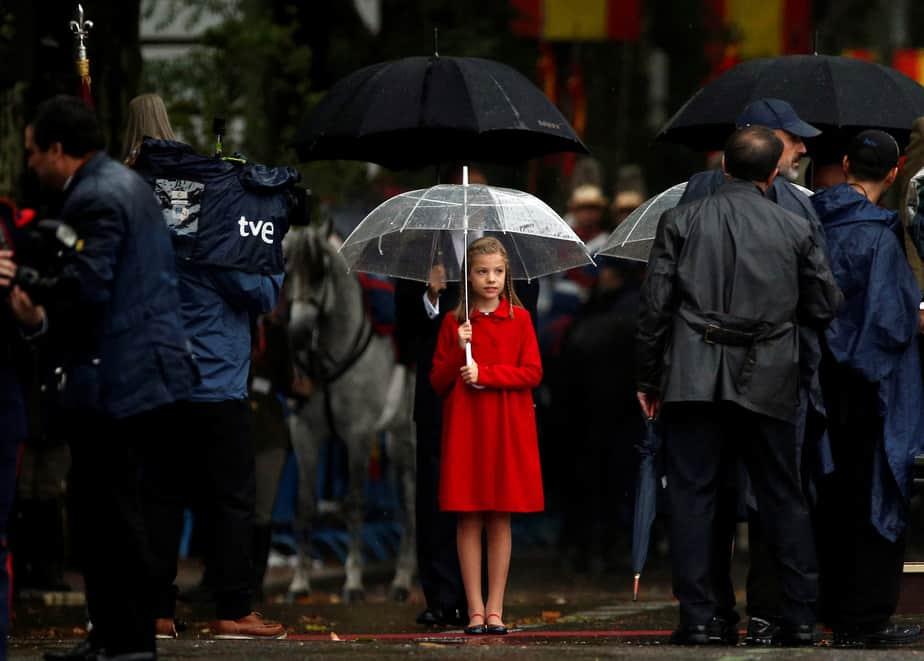 La infanta Sofía. FOTO: Reuters