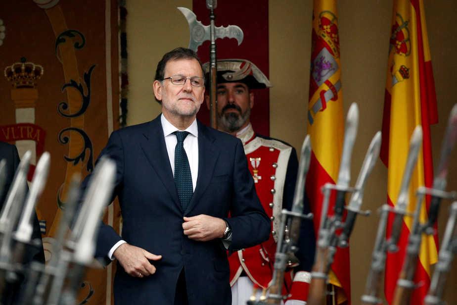 El presidente en funciones Mariano Rajoy. FOTO: Reuters
