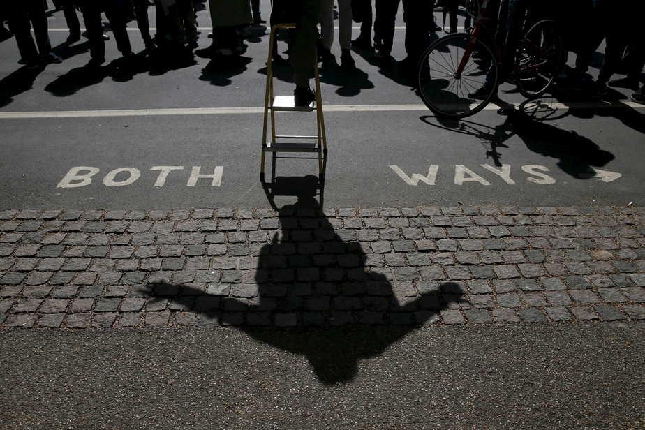 Imagen del Speaker's Corner de Londres. FOTO: Reuters