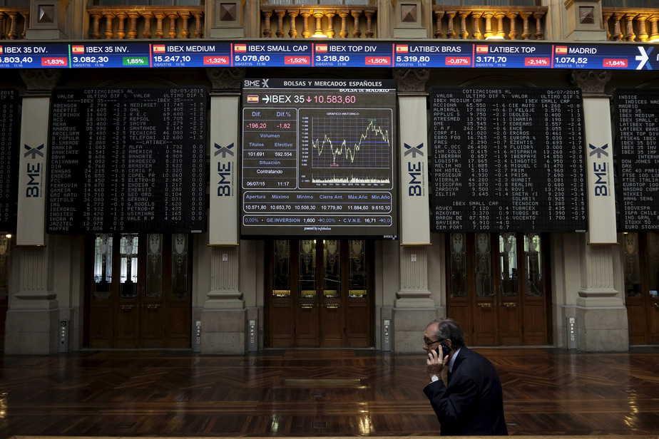Bolsa de Madrid / Reuters