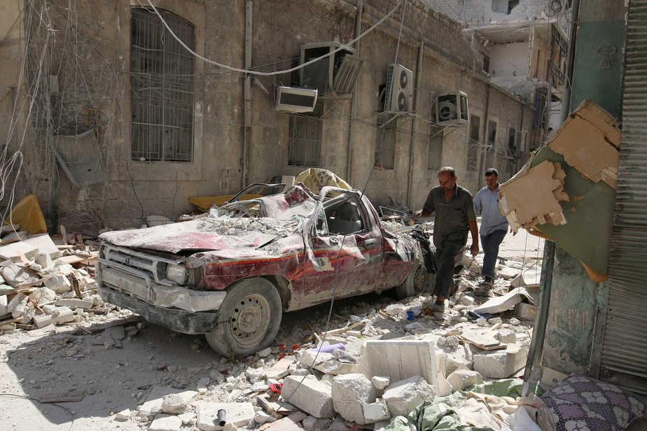 Alepo, Siria. FOTO: Reuters