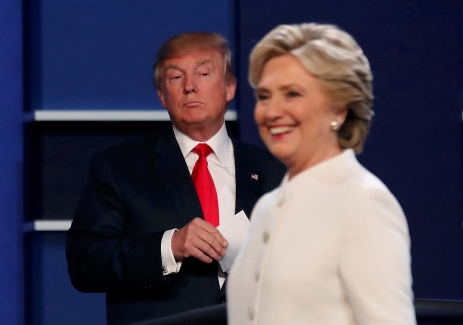 Donald Trump y Hillary Clinton. FOTO: Reuters