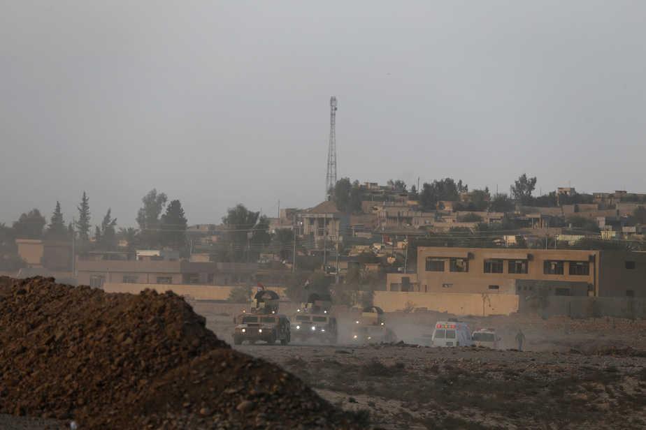 Ofensiva sobre Mosul (Irak). FOTO: Reuters