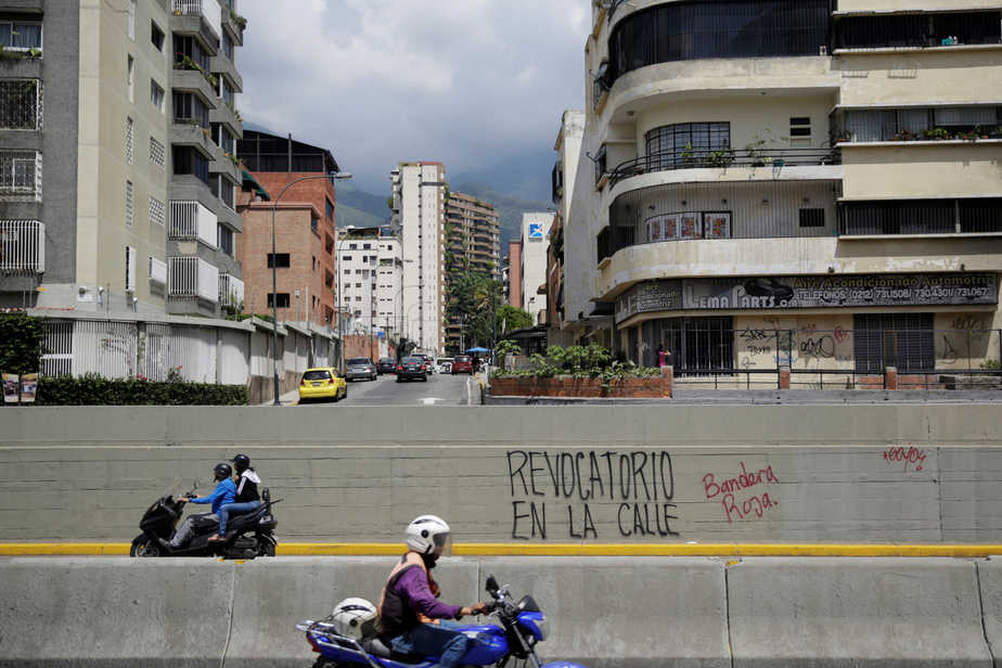 Calles de Venezuela. FOTO: Reuters