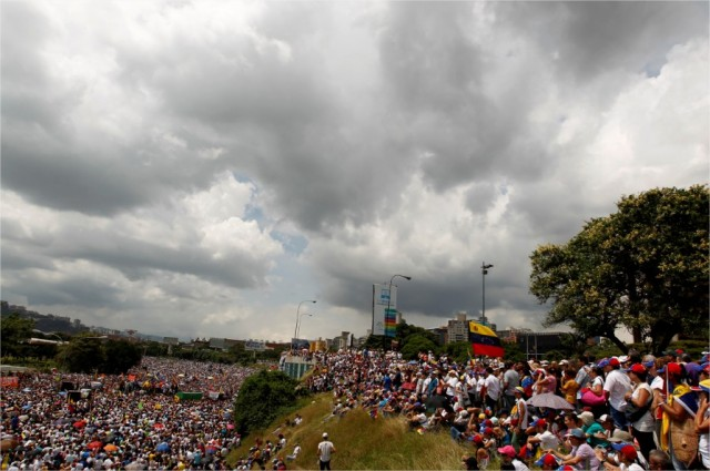 Marcha oposición Venezuela