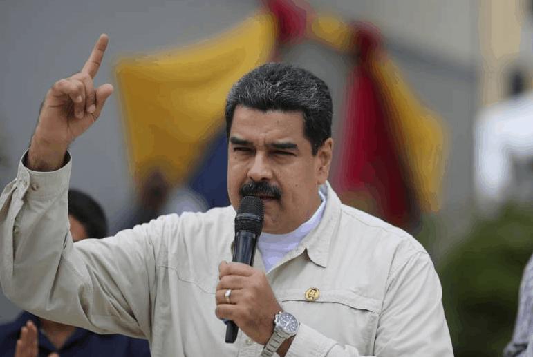 Nicolás Maduro en Caracas