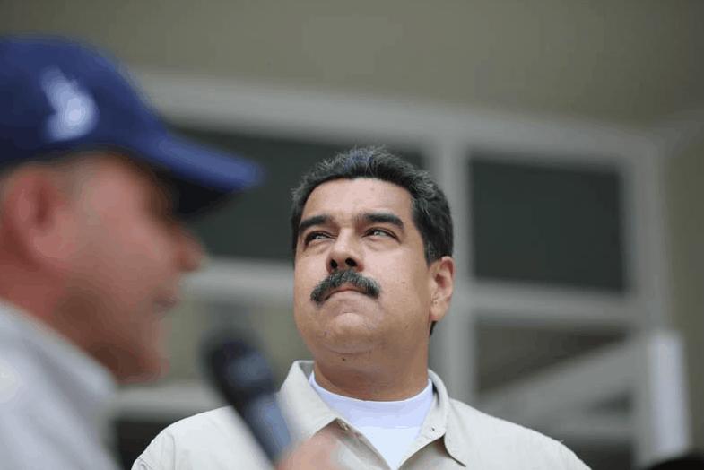 Nicolás Maduro Huelga